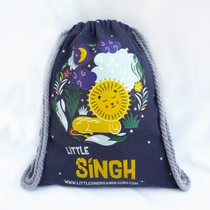 Little Singh Drawstring Backpack