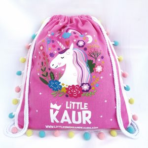 Little Kaur Drawstring Backpack